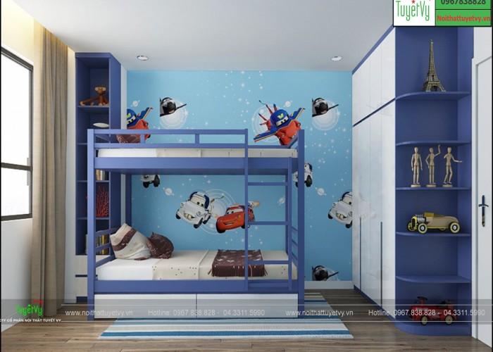 Phòng ngủ trẻ em đẹp PNTE06