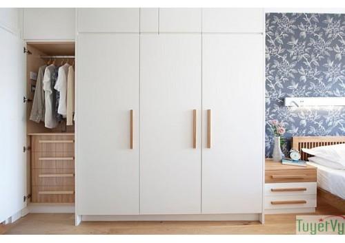 Tủ quần áo gỗ công nghiệp - TQA02