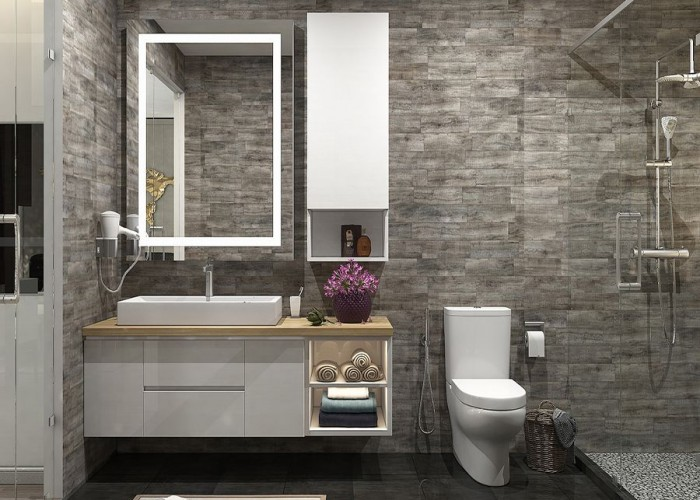 Thiết kế phòng tắm WC03