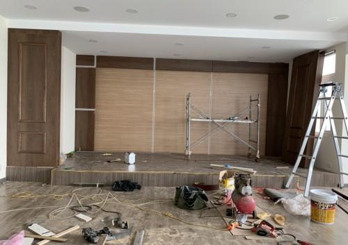 Thi công nội thất công trình ( 16 Thụy Khuê )