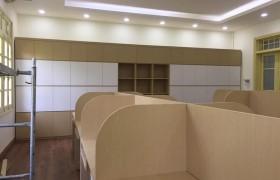 Thi công nội thất phòng làm việc công trình ( Đại học Hà Nội )