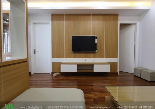 Thi công nội thất chung cư Meco Complex - Thanh Xuân
