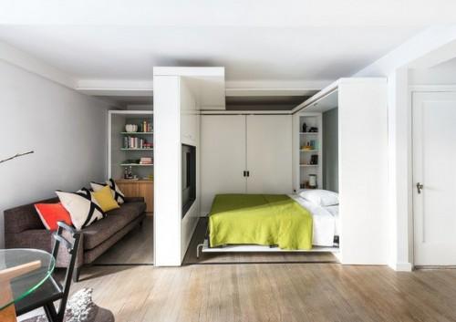 Những ý tưởng để bố trí giường ngủ thông minh cho căn hộ của bạn