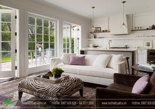 Những gọi ý trang trí và thiết kế phòng khách nhỏ