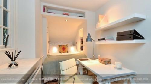 10 cách để trang trí phòng ngủ nhỏ trở nên rộng rãi hơn P1