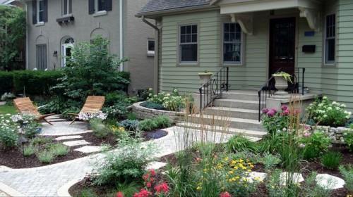 Xu hướng nội thất : Thiết kế sân vườn theo kiến trúc phương Tây