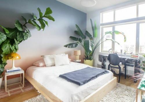 Xu hướng nội thất : 10 phòng ngủ với đệm giường màu trắng