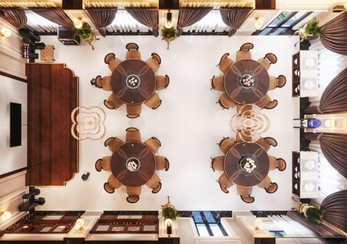 Thiết kế nội thất phòng tiếp khách ( Khách sạn Hải Dương )