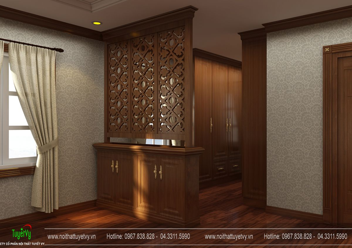 Thiết kế nội thất biệt thự tân cổ điển tại Thanh Hóa