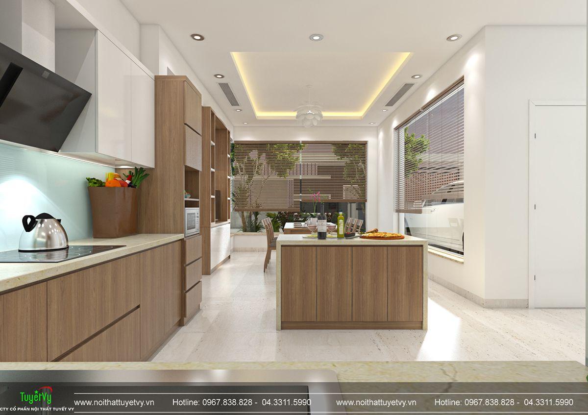 Thiết kế nội thất biệt thự Linh Đàm 06