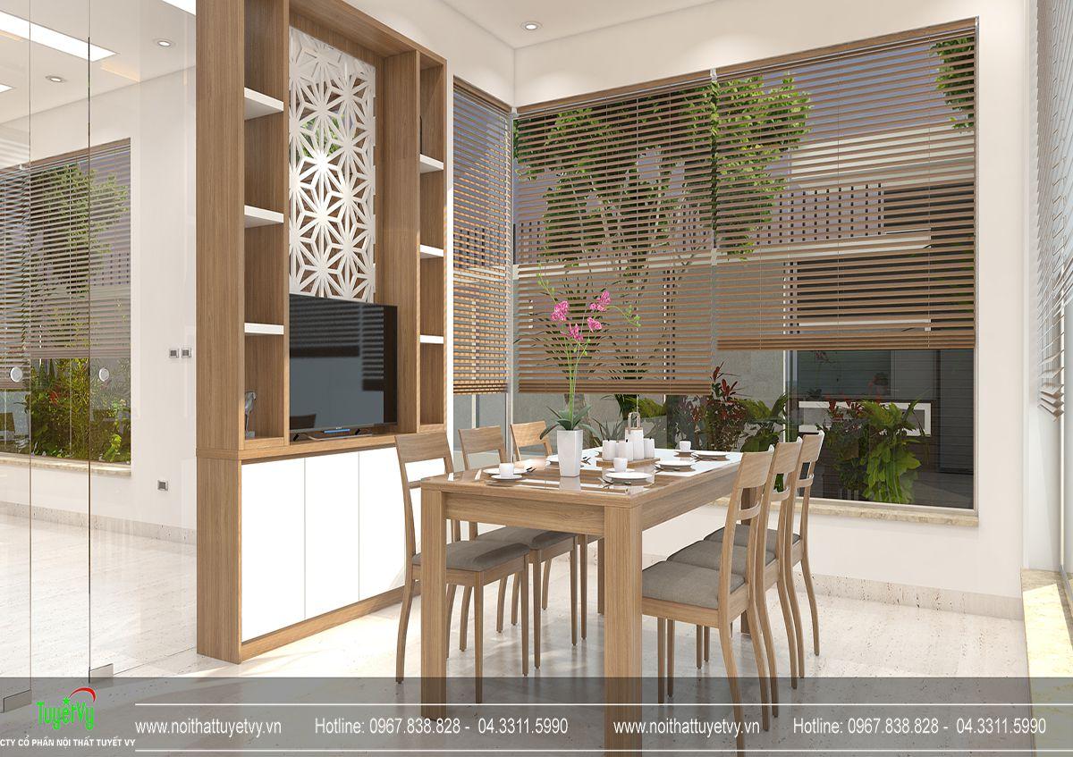 Thiết kế nội thất biệt thự Linh Đàm 07