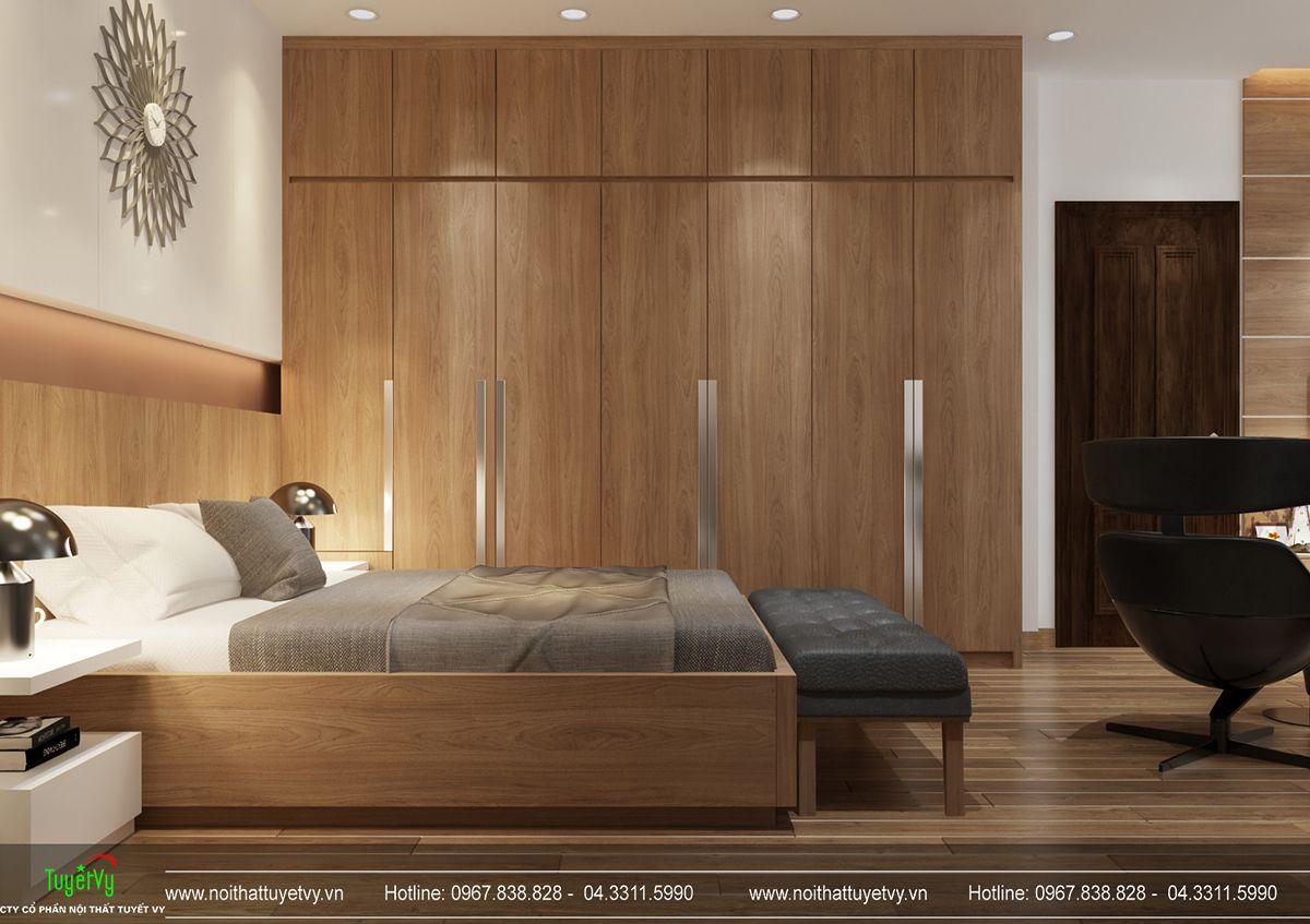 Thiết kế nội thất biệt thự Linh Đàm 09