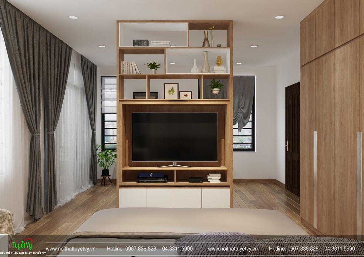 Thiết kế nội thất biệt thự Linh Đàm 11