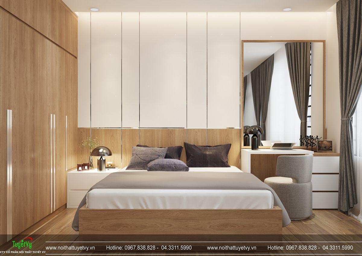 Thiết kế nội thất biệt thự Linh Đàm 12