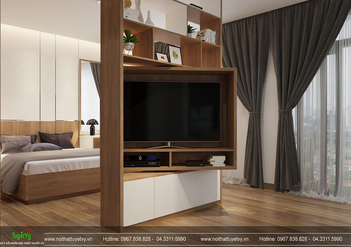 Thiết kế nội thất biệt thự Linh Đàm 13