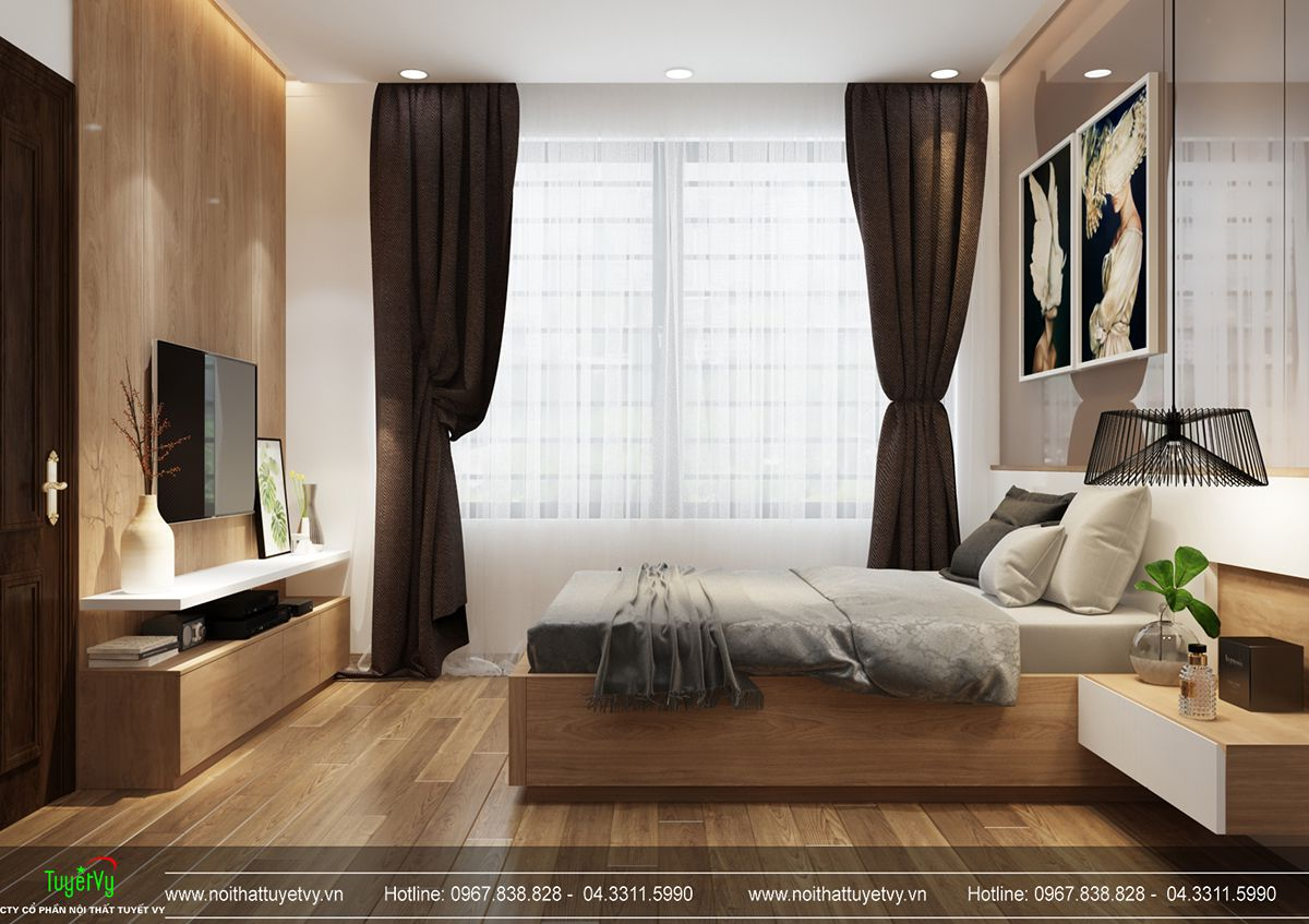 Thiết kế nội thất biệt thự Linh Đàm 14