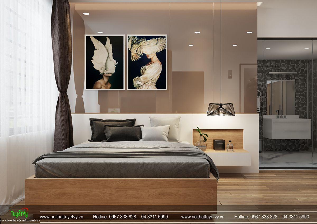 Thiết kế nội thất biệt thự Linh Đàm 15