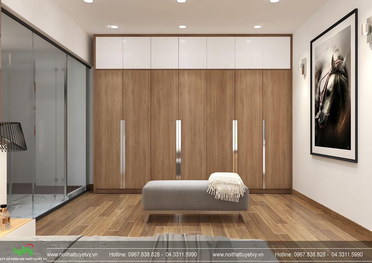 Thiết kế nội thất biệt thự Linh Đàm 16