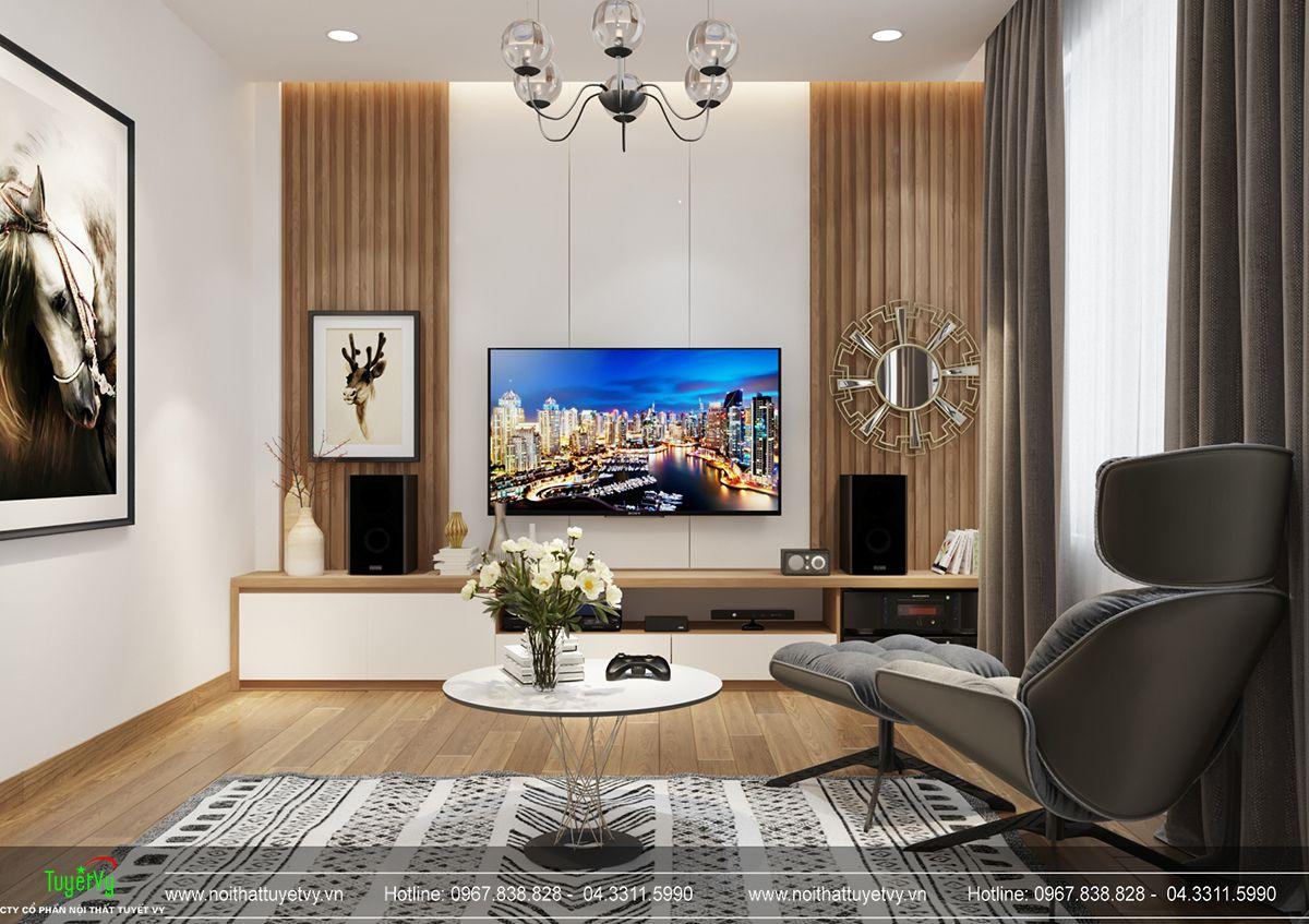 Thiết kế nội thất biệt thự Linh Đàm 18