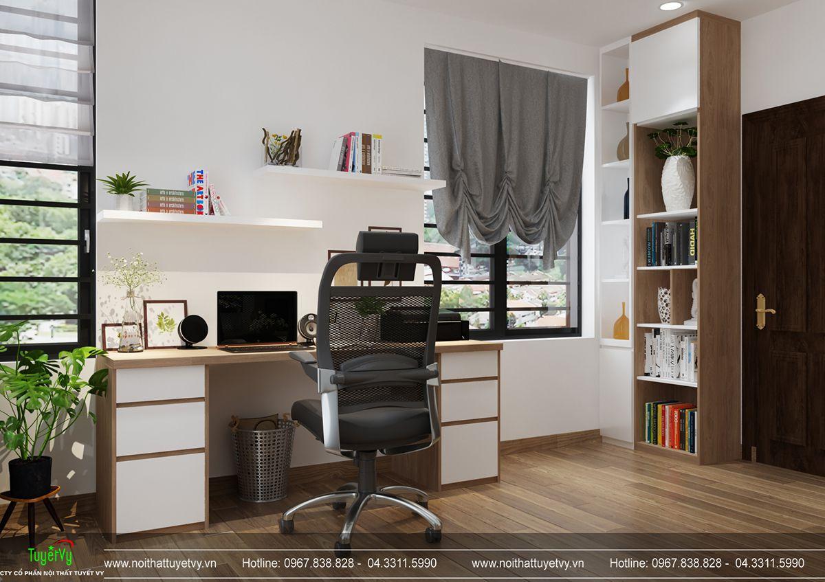 Thiết kế nội thất biệt thự Linh Đàm 19