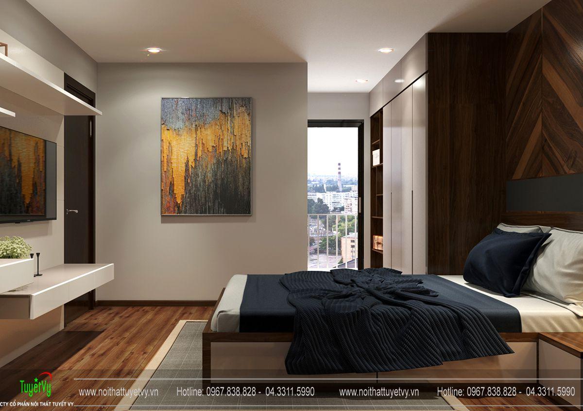 Thiết kế nội thất chung cư Hanhud Hoàng Quốc Việt