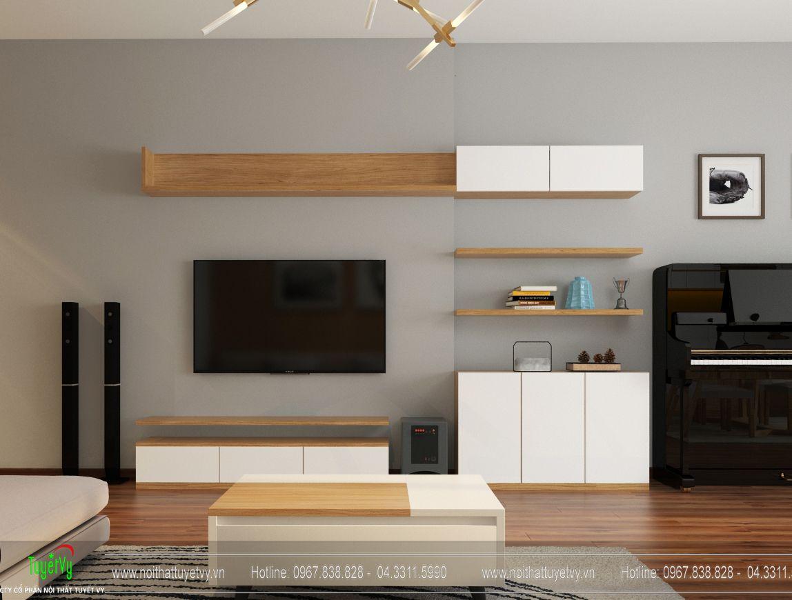 Thiết kế nội thất chung cư The TWO Residence -Gamuda Garden