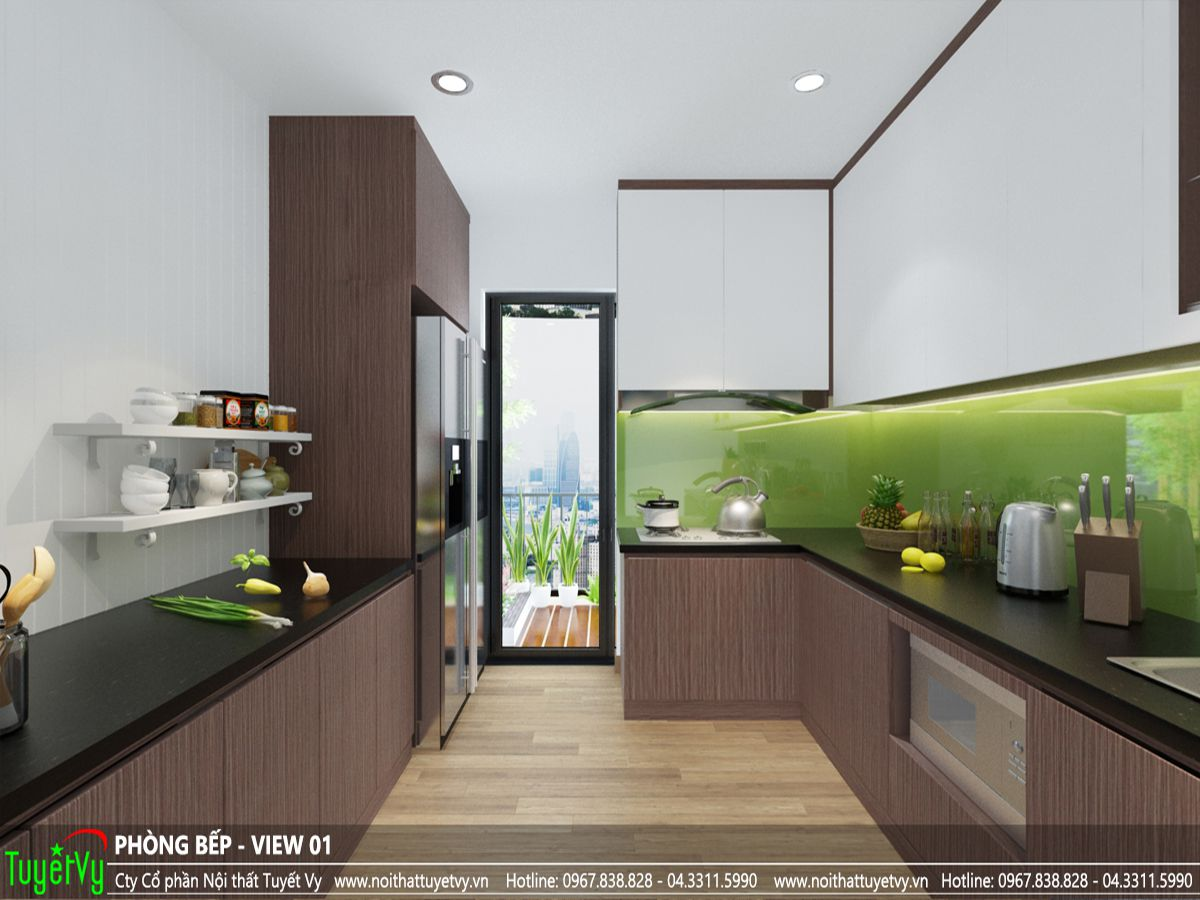 thiết kế nội thất căn hộ anh vinh