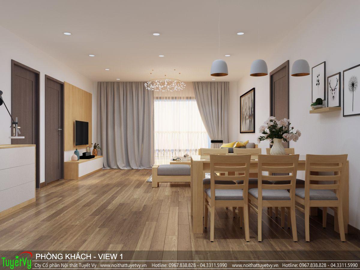 Nội thất phòng khách Ecogreen 04