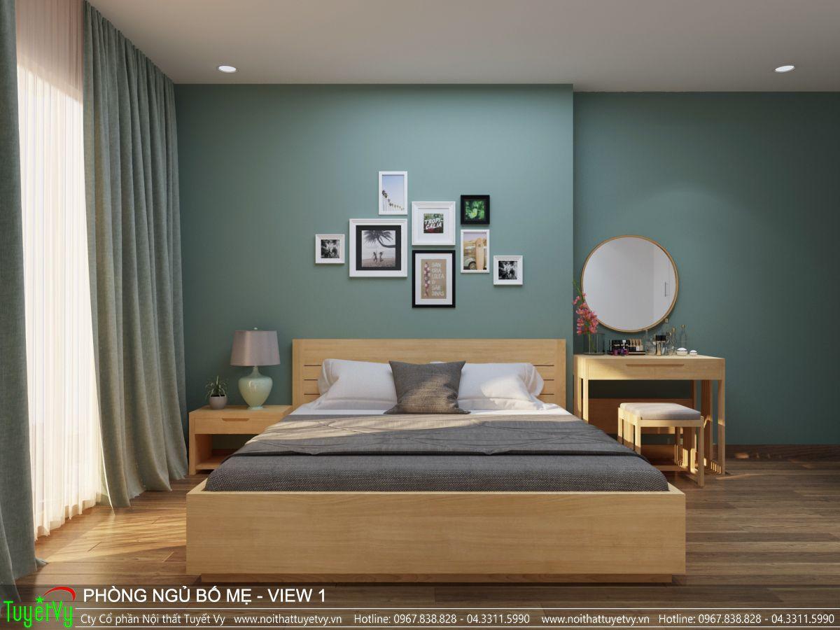 Nội thất phòng ngủ master Ecogreen 02