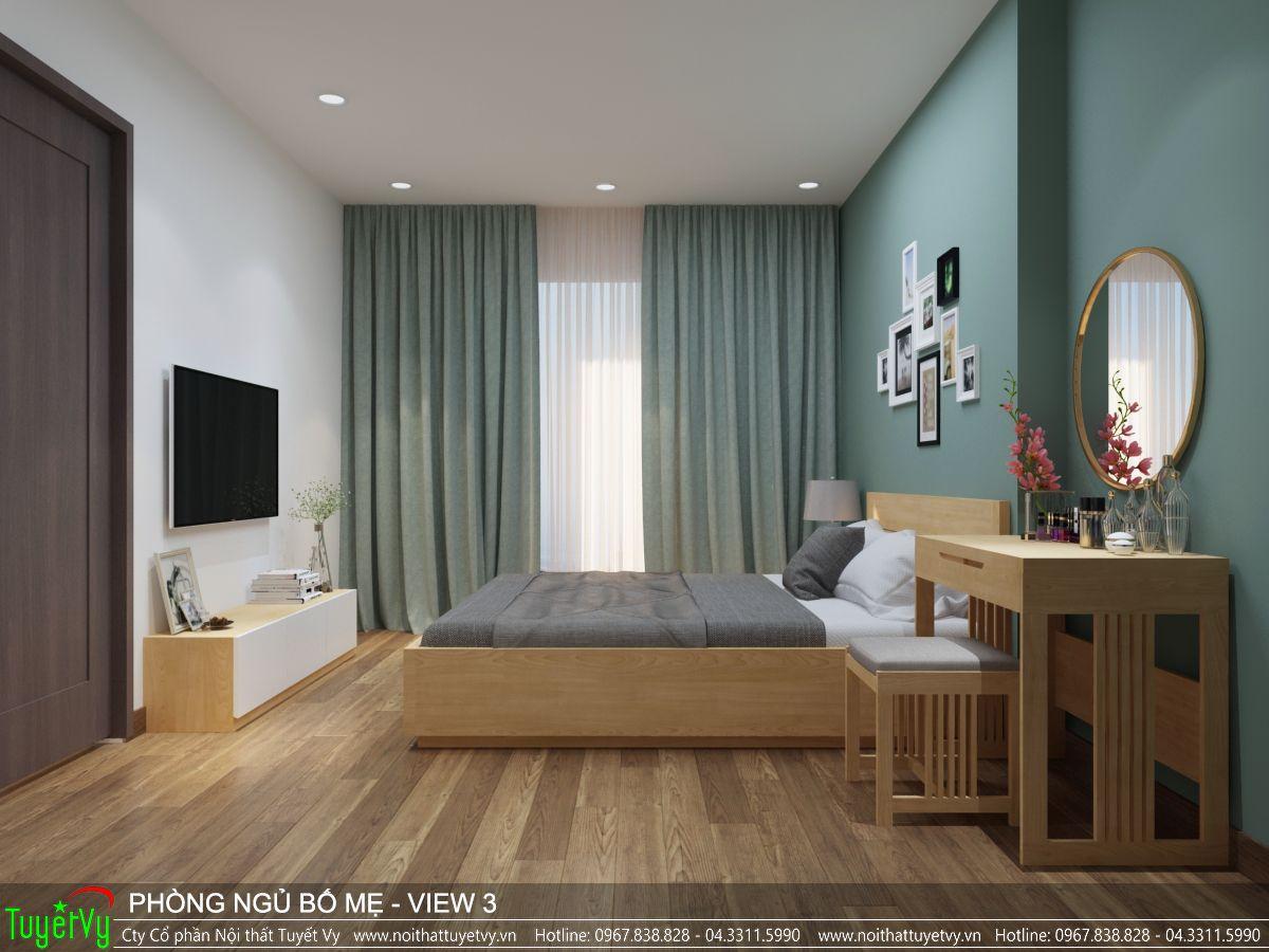 Nội thất phòng ngủ master Ecogreen 03