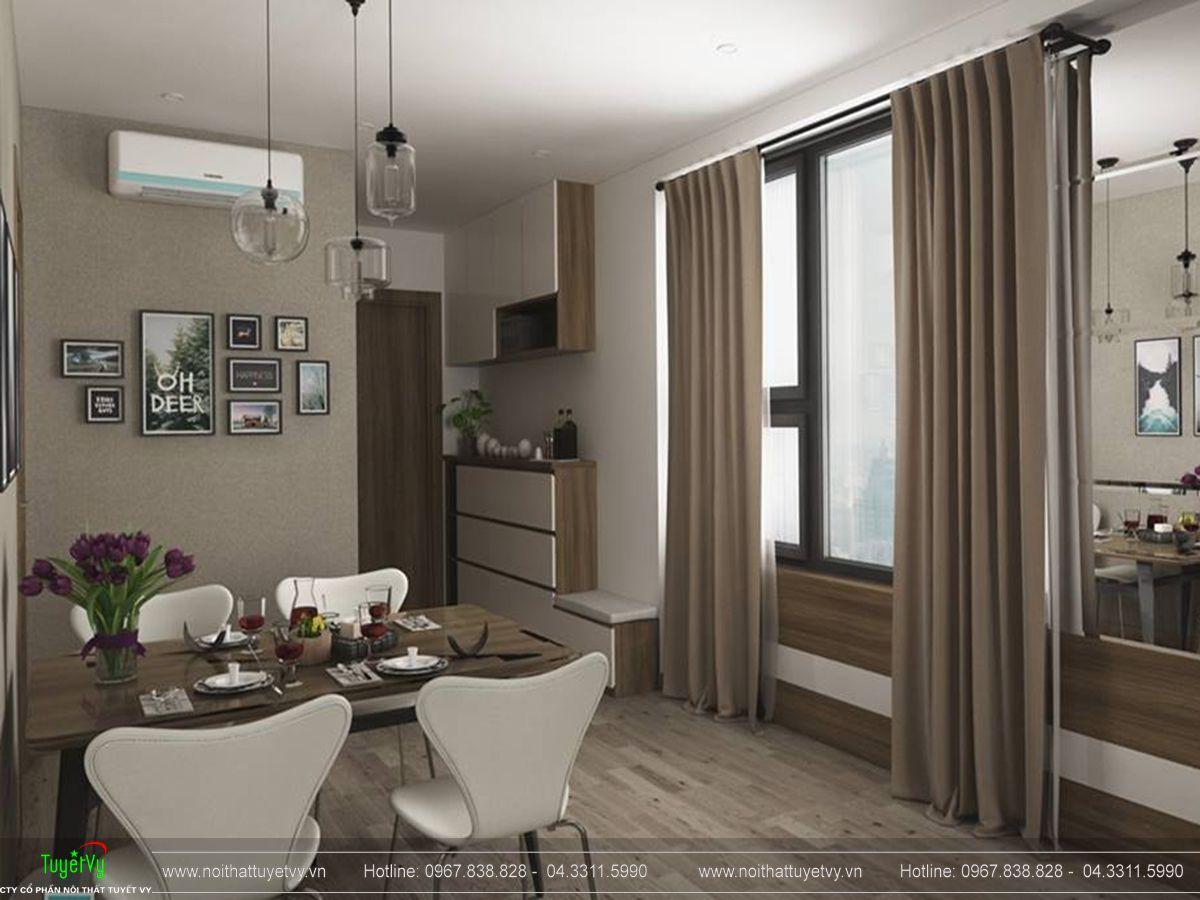 nội thất chung cư Eco Lake