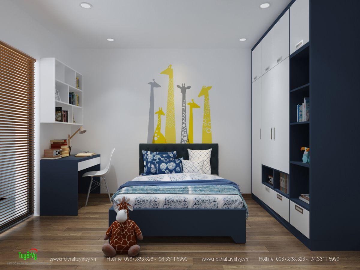nội thất chung cư goldsilk
