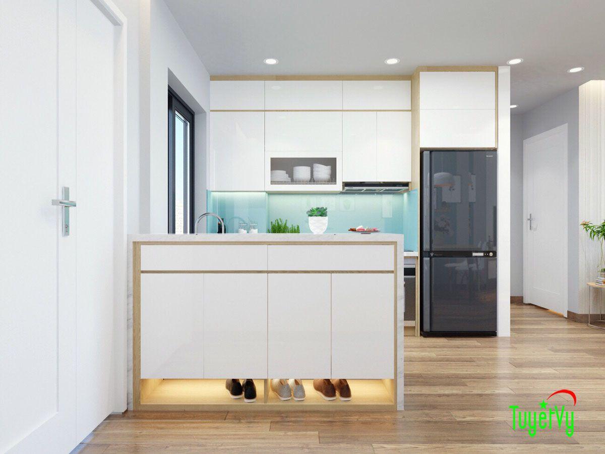 Thiết kế nội thất chung cư Mandarin 2 căn hộ 03A