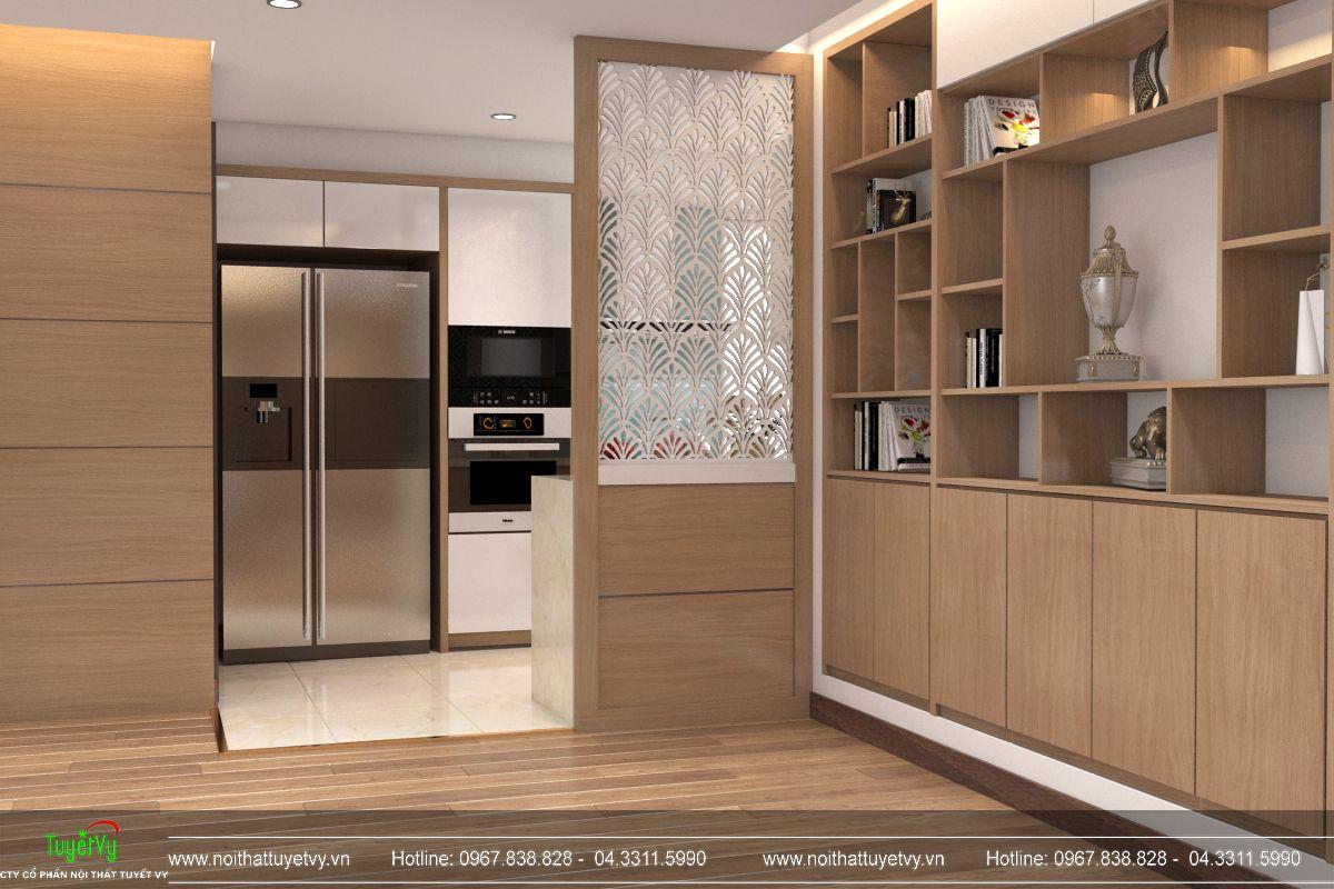 Nội thất phòng bếp chung cư Mandarin