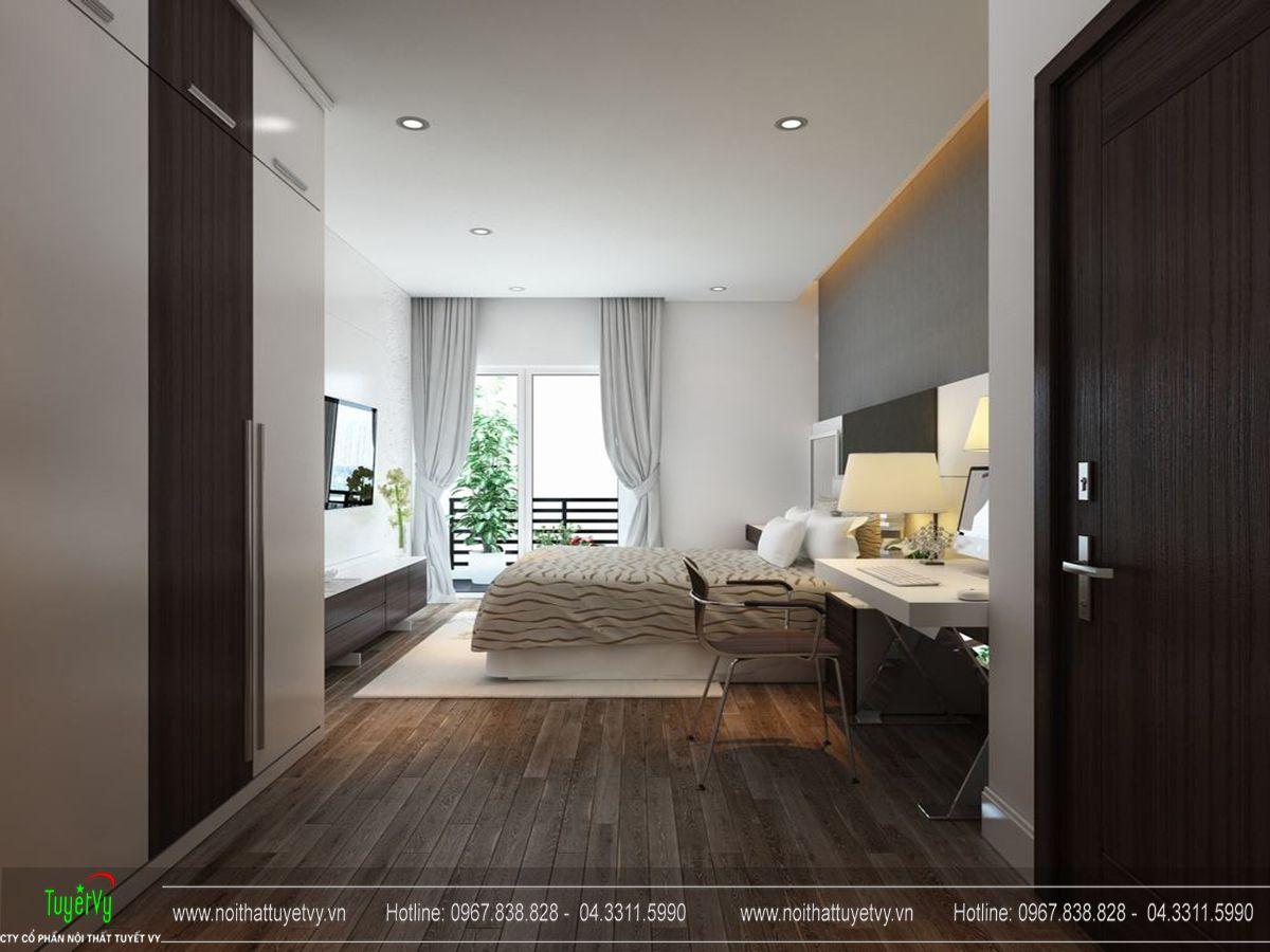 nội thất chung cư usilk city
