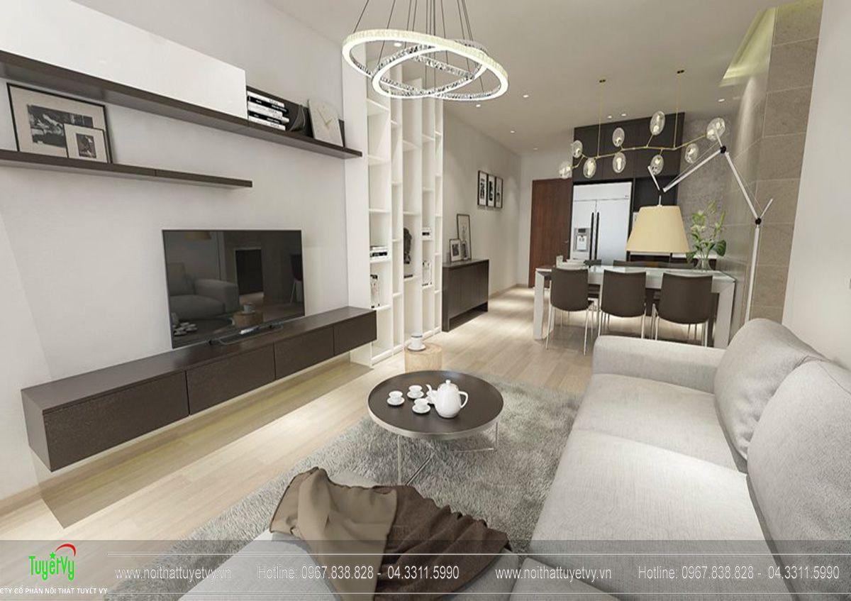 Thiết kế nội thất chung cư fivestar căn hộ 11