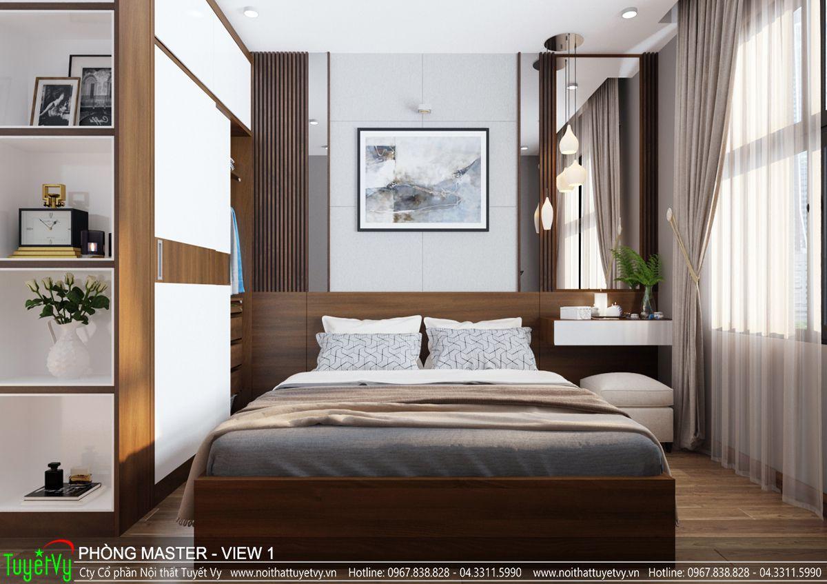 Thiết kế nội thất căn hộ anh Quyết Goldmark City
