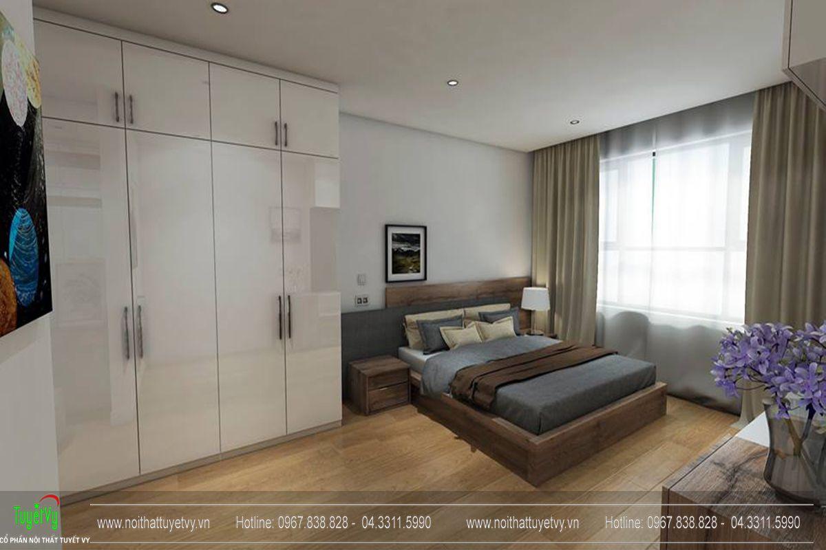 Thiết kế nội thất chung cư goldmark city tòa Ruby 1-05