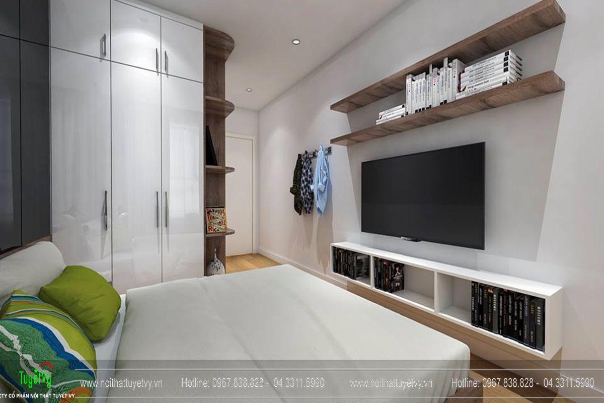 Thiết kế nội thất chung cư goldmark city tòa Ruby 1-06
