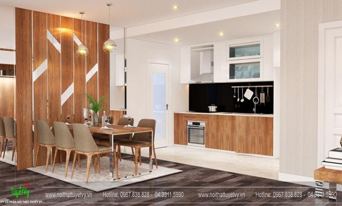 Thiết kế nội thất chung cư Goldmark Ruby 1 căn 9 - 04