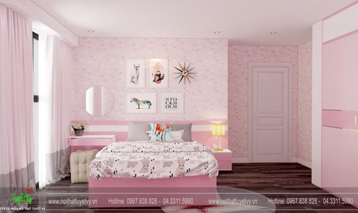 Thiết kế nội thất chung cư Goldmark Ruby 1 căn 9 - 09
