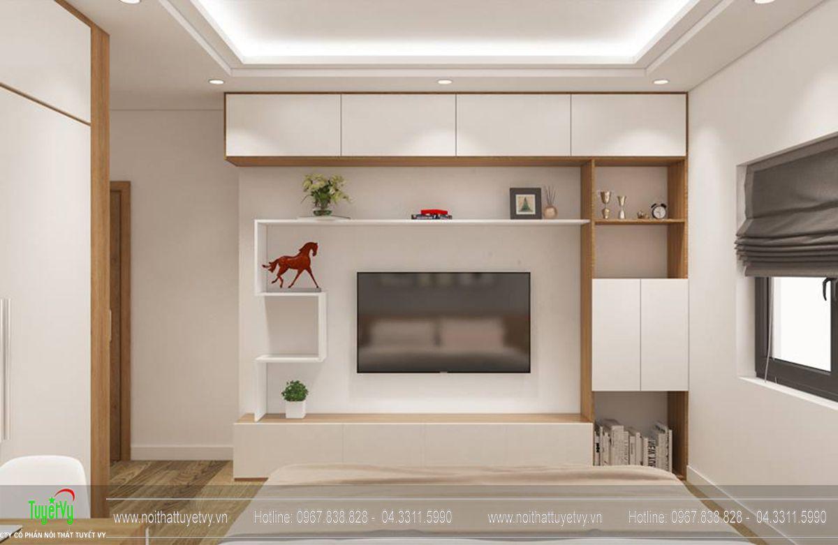 Thiết kế nội thất chung cư goldmark tòa ruby 2 căn 1 - 06