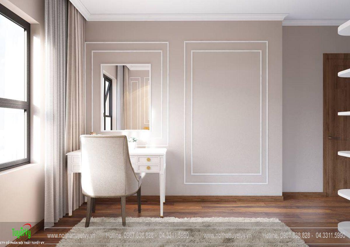 Thiết kế nội thất chung cư Goldmark City tòa Sapphire 3 căn hộ 11