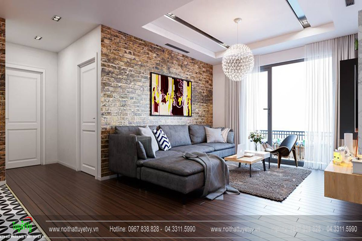 Thiết kế nội thất chung cư Goldmark City Sapphire 1 - 01