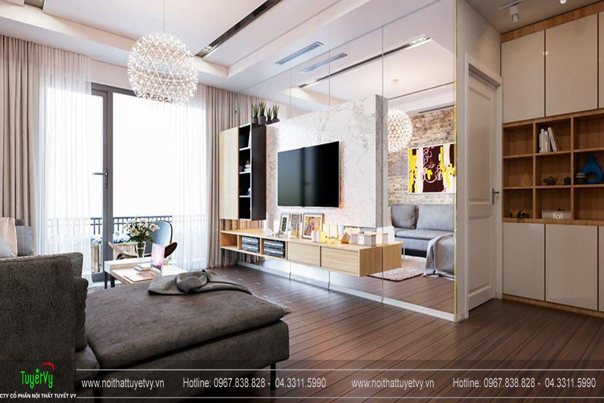 Thiết kế nội thất chung cư Goldmark City Sapphire 1 - 02