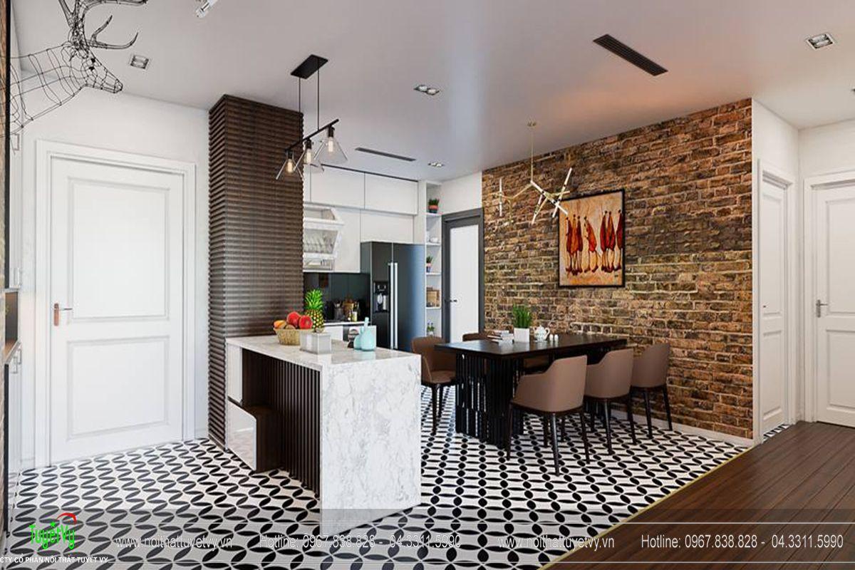 Thiết kế nội thất chung cư Goldmark City Sapphire 1 - 03