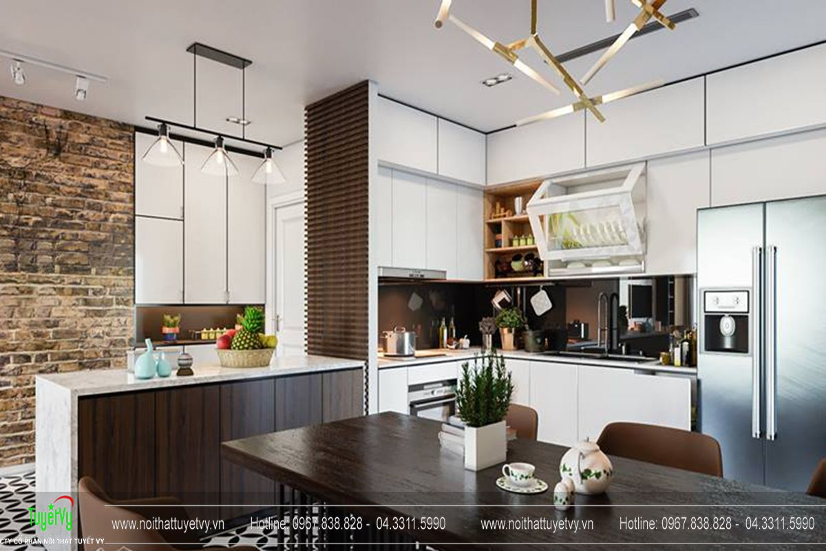 Thiết kế nội thất chung cư Goldmark City Sapphire 1 - 04