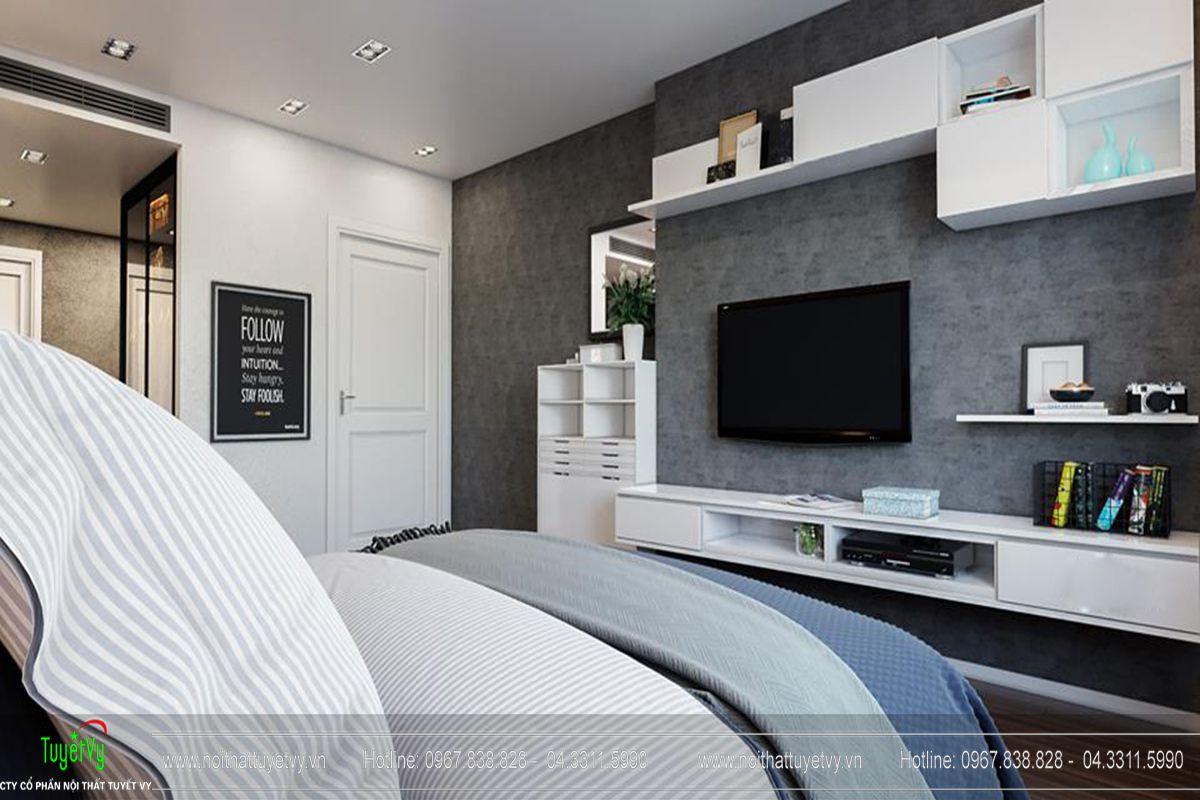 Thiết kế nội thất chung cư Goldmark City Sapphire 1 - 07