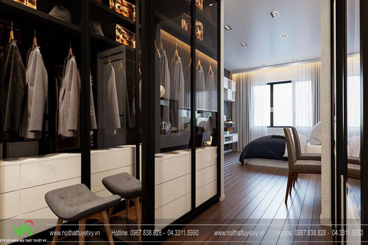 Thiết kế nội thất chung cư Goldmark City Sapphire 1 - 08