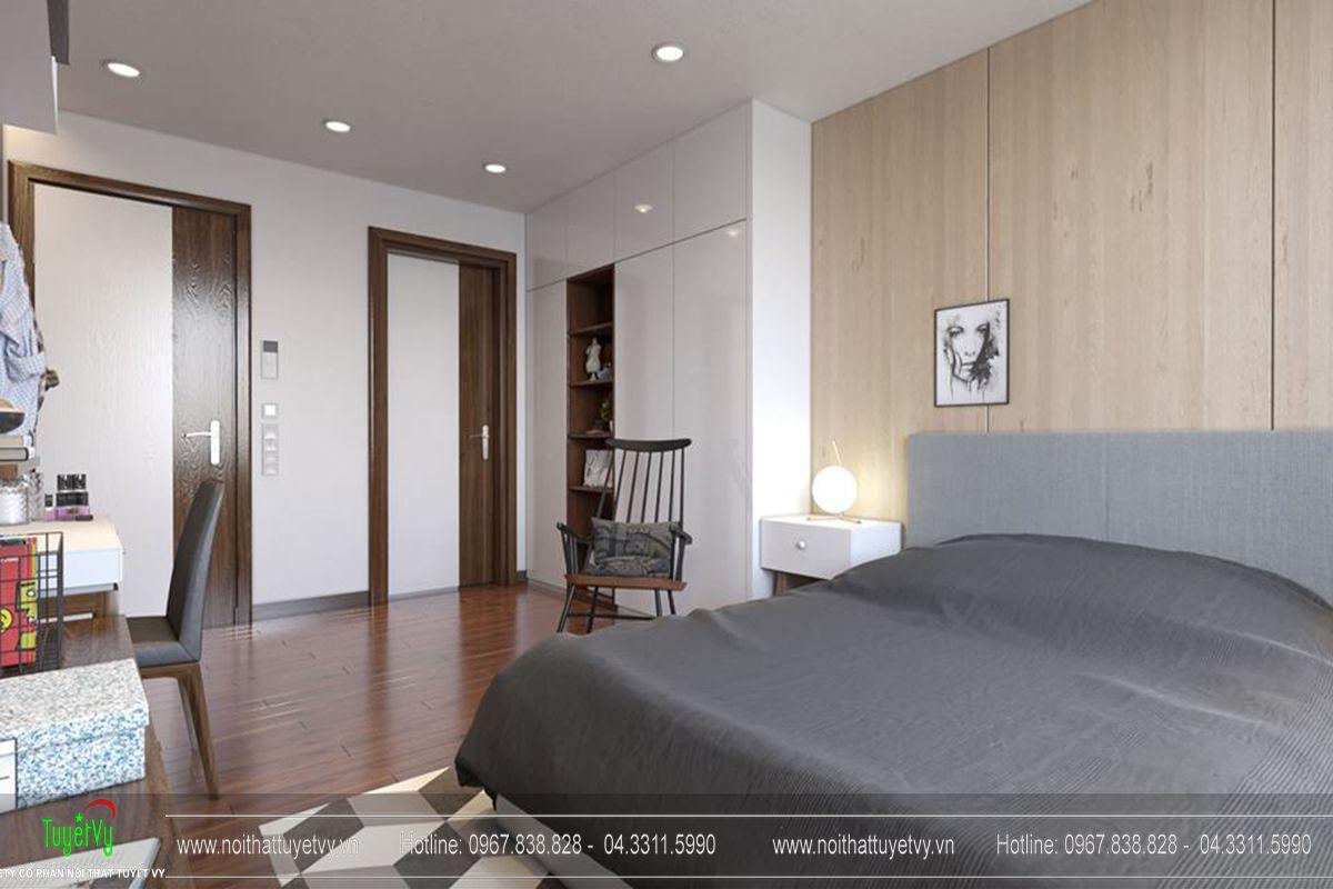 Thiết kế nội thất chung cư Goldmark City Sapphire 1 - 10